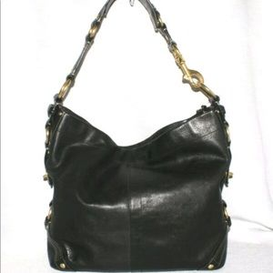 Coach Large Leather Carly Bag